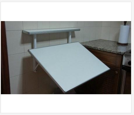 Mesa Rebatible Plegable Para Cocina - Desayunador Mesas LT - Lejaim