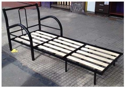Sillon cama ca o 2 1 plaza con colchon lejaim for Sillon cama de una plaza