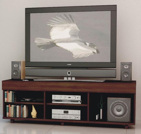 Mesa para lcd hasta 42 fiplasto lejaim for Mesas de television baratas