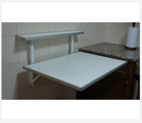 Mesa rebatible plegable para cocina desayunador mesas lt - Mesa plegable de cocina ...