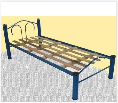 Cama 1 plaza ca o esmaltado 3 muebles mac lejaim for Camas de 1 plaza baratas